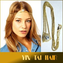2015 Time-limited New Hairband Zinc Alloy Headband Headdress Popular Women Ethnic Style Necklaces Hair Accessories Headwear