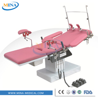 MINA-OBT002 women birthing hospital obstetric delivery table