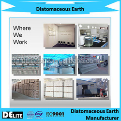 Natural and Pollution-free DElite Food Grade Diatomaceous Earth Powder For Plastic And Functional Filler
