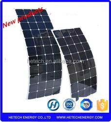 high efficiency sunflex solar panel flexible monocrystalline prices