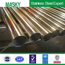 aisi 304 stainless steel decorative tube price pr kg