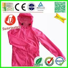 New style Popular men's light weight nylon waterproof jacket Factory