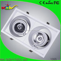 high class commercial led down light with emergency backup battery 15 30 60 degree cob