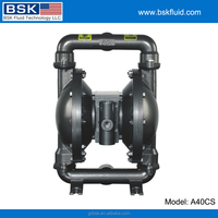 "1.5"" casting steel viscous liquid pumping double chamber air operated pumps"