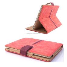 luxury design belt clip case for ipad mini
