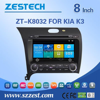 car audio system for KIA K3 2013 car radios with RDS bluetooth car dvd gps navigation system
