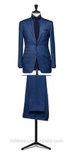 El diseño de morden, profesional formal traje de negocios, azul marino personalizado a medida de slim- ajuste traje urbana