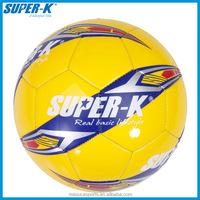 SUPER-K Size # 5 Colorful Machine Sewn PVC Soccer Football Balls SAB20339
