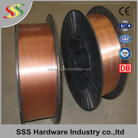ER70S 6 machine free sample mig welding wire for gas shielding