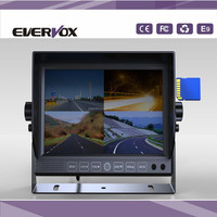 """7"""" TFT-LCD Car Rearview 4 channel Quad Split Monitor"""