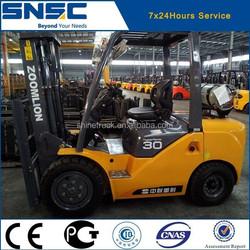SNSC import japan nissan engine forklift truck 3ton in stock