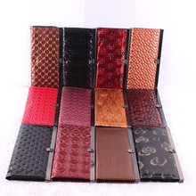 High Quality wholesale fashion brand folding genuine women leather wallet for lady