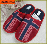 comfortable suede men winter indoor slipper for bedroom