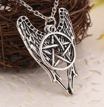 Hot film Supernatural star jewelry, ancient bronze Silver Charms necklace