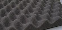 Acoustic Foam Fire-proof Egg Foam Charcoal Wave Soundproofing Foam for Studio
