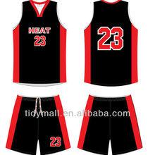 Custom Basketball Uniform/basketball throwback jerseys