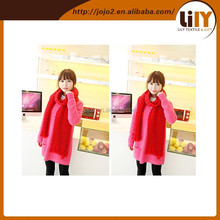 Fashion Europe Girls Spring Long Sleeve Sweaters With Scarf Clothing Winter Knitting Cotton