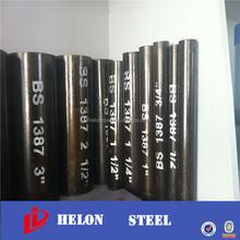sch 20 steel pipe ! en 10219 s275 erw steel tube carbon steel boiler tube