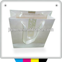 2014 Customize top quality packaging paper bag printing service with your own logo and design