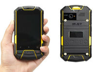 """3.5 Inch Ruggedized Android Dual Core Phone """"Bison"""" - 960x640, Waterproof, Shockproof, Dustproof(WP-M6)"""