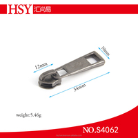 Key locking zipper slider with promotion, sale zipper slider for Luggages Bags