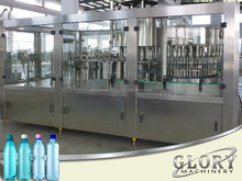 Automatic automatic bottle filling machine / system