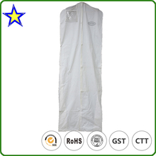 High quality Factory Custom Mini Imprinted Bridal Clear Plastic Vinyl Garment Bags Wholesale
