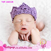 Wholesale Hot imperial crown cute infant crochet headband