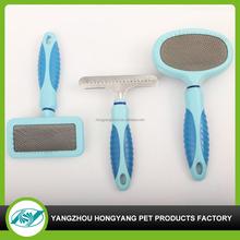 Soft Plastic Handle Pet Comb Dog Brush