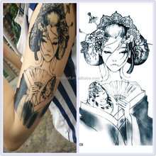 LC809/New 2015 big temporary sex girl tattoo designs body art tattoos stickers for boy