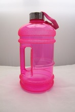 BPA free 2.2L sports Water jug with side handle,clear plastic water bottle