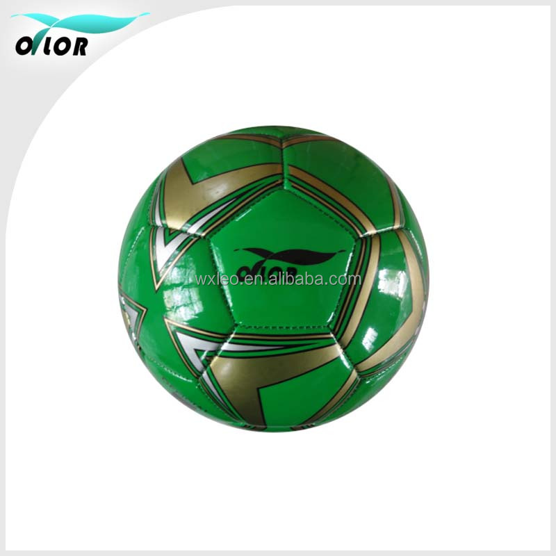 Promotional machinestiched PVC soccer balls
