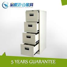 central locked 4drawer vertical office steel file cabinet for hanging files
