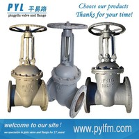 2015 hot sale slide gate valve used in oil and gas pipeline