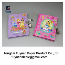 wholesale girl diary with lock and key