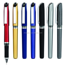 Best Office Writing Plastic Roller Pen Plastic Gel Ink Pen With Logo