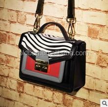 Euramerican fashion female women hand bags and brand zip bag women handbags genuine leatheer