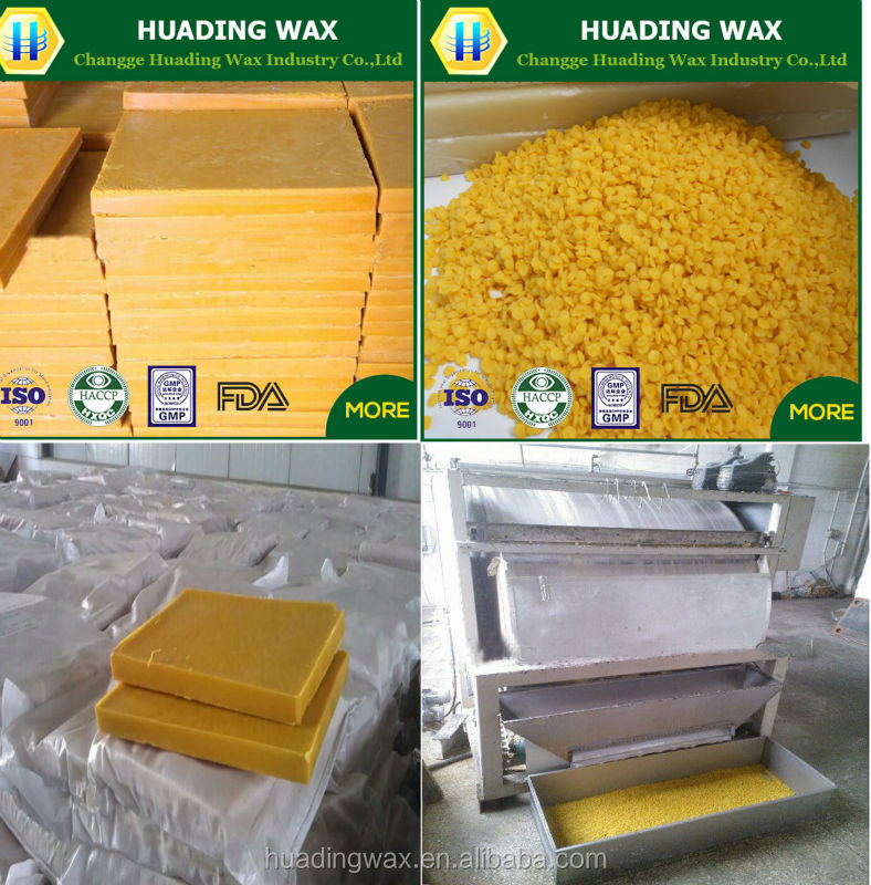 Newest Crude Natural Pure Refined Honey Crude Yellow Beeswax - Buy ...