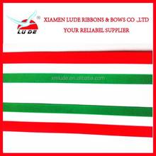 Christmas Season Used Woven Grosgrain Ribbon
