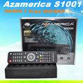 El más reciente de américa del sur decodificador azamerica s1001 dvb- s2+wifi az america s1001 full hd 1080 s1001
