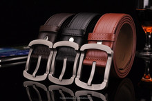 2015 new models high quality fashion genuine leather formal reverisble belt for man