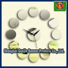 home decorative vinyl decal wall clock sticker design