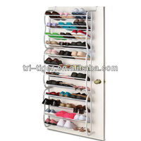 12 Tier 36 pair Popular Mounted On Over Door Shoe Rack