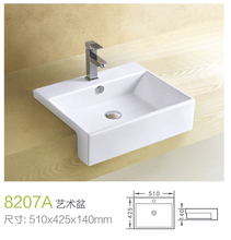 ceramic one piece handrinse wholesale sink
