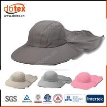2015 UPF 50+ camping hiking fishing big wide brim neck flap cap