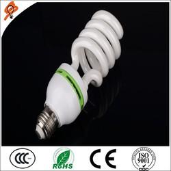 Best 8000 Hours Daylight 9W Florescent Light CFL E27 B22 Half Spiral Energy Saving Lamp
