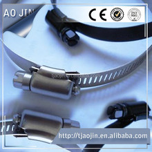 3 1/2 inch stainless pipe clamp