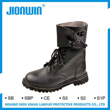 Genuine Leather anti static steel toe safety shoes