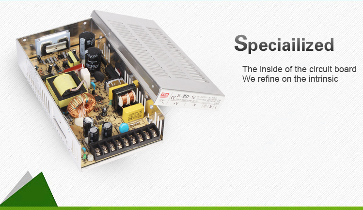 Power Supply With 250w 5v 40a Led Ac Dc Selv Electric