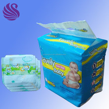 B Grade Baby Diapers Stock in Bales
